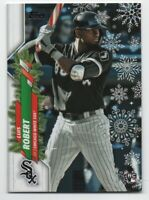 2020 Topps Holiday Luis Roberts Candy Cane Bat Short Print RC #WH2 - FREE SHIP