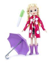 Moxie Girlz Raincoat Color Splash Avery Doll with Umbrella ~ Brand New