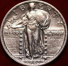 Uncirculated 1923 Philadelphia Mint Silver Standing Liberty Quarter