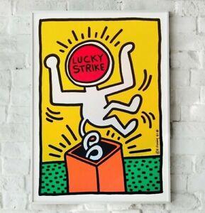 Keith Haring Print, Keith Haring Poster, Art Print, Wall Art