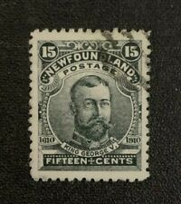 Newfoundland Stamp #103 Used