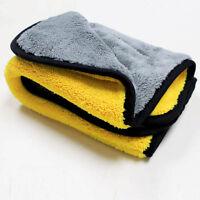 Neue Autopflege 800gsm Super Dick Plüsch Microfiber Auto Reinigungstuch Handtuch