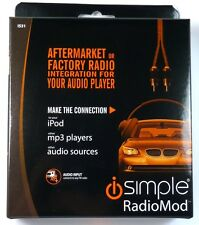 IS31 ISIMPLE Wired FM Modulator-Universal Auxiliary Audio Input for All FM Radio