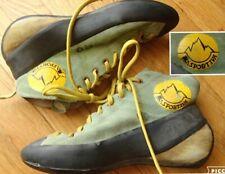 vintage La Sportiva high top climbing shoes suede boots eu 40 mens 7.5 women 8.5