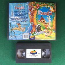 VHS Walt Disney BAMBI (ITA 1997) VS 4372 I Classici OTTIMO !!!