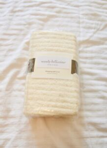 NEW Wendy Bellissimo Natural Soft Chenille Changing Pad Cover BEIGE