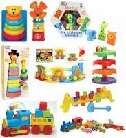 Kids Activity Toy Stacking,Blocks,AnimalTrain,Jigsaw Baby Toddler Xmas Gift 12+m