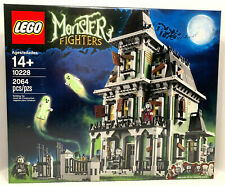 Lego 10228 Monster Fighters Haunted House Factory Sealed 2064 pieces Ages 14+