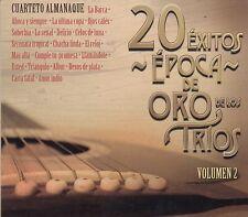 Cuarteto Almanaque 20 Exitos Epoca de Oro de Los Trios Vol 2 CD New Nuevo sealed