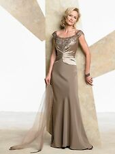Montage by Mon Cheri  style 27908 Cafe size 12-Mother Of The Bride