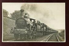 MR Railway STEAM TRAIN Down Express double header engine 24  Northfield RP PPC