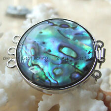 Natural MOP/Abalone Shell Jewelry Clasp Craft 33mm