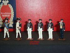 Tradición 74 Almirante Lord Nelson 1805 Azul Marino Marineros De Metal Conjunto figura soldado de juguete