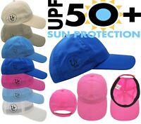 Kids Baseball Cap Boy Girl UV UPF 50+ Sun Protection Adjustable strap