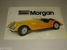 Auto Werbung Prospekt Morgan Sports Cars 4/4 + Plus 8