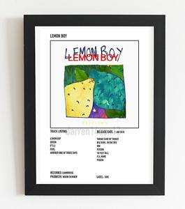 Cavetown Poster Lemon Boy Album Art Polaroid Style Indie Pop Poster A3 / A4