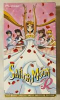 Sailor Moon R: The Movie VHS 1993 Anime Film 1999 (Uncut Special) Pioneer [NTSC]