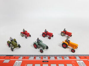 CV166-0,5 #6x wiking H0 / 1:87 Tractor/Tractor Porsche with Figure,Very Good /