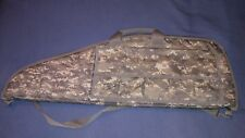 Airsoft gun soft camo bag w/ velcro pockets