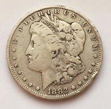1882 MORGAN SILVER DOLLAR COIN FREE SHIPPING