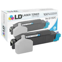 LD Compatible Kyocera-Mita TK-5152C / 1T02NSCUS0 Cyan Toner Cartridge