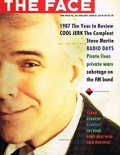 THE FACE #93 January 1988 STEVE MARTIN Tracey Tweed MIKE OWEN Steve Biko @EXCLT@