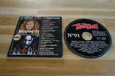 MEGADETH - SONATA ARCTICA - ALICE IN CHAINS - GOTTHARD - CD ROCK HARD 91