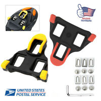 Fit Shimano SM-SH10/11 Cleat Set 0/2/6° Float SPD-SL Road Bike Pedal Cleats USA