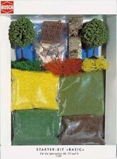 Prato Erba Erbetta Alberi Lichene H0 Scale N TT Diorama Model BUSCH