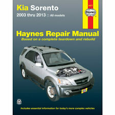 Kia Sorento All Models 2003-2013 Haynes USA Workshop Manual