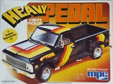 MPC Heavy Pedal 1971 - 72 Chevy Longbed Stepside Custom Pickup Truck