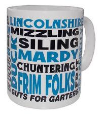 Lincolnshire Dialect Mug