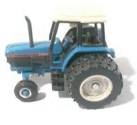 """Ertl Ford 8340 Farm Tractor 2.5"""" Diecast 1:64 Scale Model Dual Wheels"""