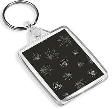Cannabis Leaf Keyring - IP02 - Diamond Weed Marijuana Dope Cool Gift #16527