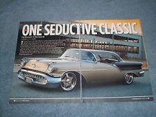 "1957 Oldsmobile Super 88 RestoMod Article ""One Seductive Classic"""