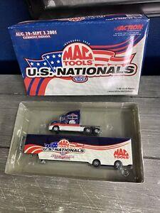 New MAC Tools 2001 US NHRA NATIONALS Hauler 1:64 Limited Edition