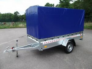 Brand NEW Trailer Box Camping Car 9FT x 4FT 2,70 x 1,32 m +150cm TOP COVER