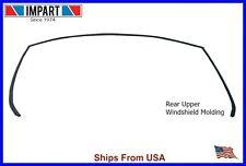 BMW Rear Window Winshield Upper Glass Trim Molding 51 31 7 027 916
