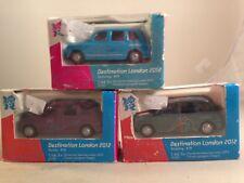 Corgi 'Destination London 2012 Olympics' Model Taxi bundle - corgi Olympic taxi