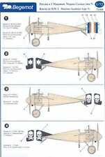 Begemot Decals 1/72 MORANE SAULNIER TYPE N Russian Imperial Air Force