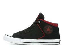 New Converse CTAS High Street Hi Shadow Size 11 Shoes Sneakers Men's Black Red