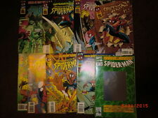 Web of Spider-man & # 26 with Hologram Cover Fantastic Four Human Torch