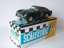 Scalextric C68 E3 ASTON MARTIN GT VERDE CON LUCI Boxed (wm151)