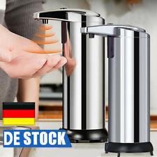 2X Desinfektion Spender Automatischer Seifenspender Infrarot Sensor Edelstahl DE