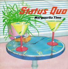 """STATUS QUO Marguerita Time 7"""" VINYL B/w Resurrection (quo14) Pic Sleeve UK Ver"""