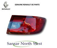NEW Genuine Renault Clio IV- Drivers Side Rear Outer Lamp Tail Light O/S RIGHT