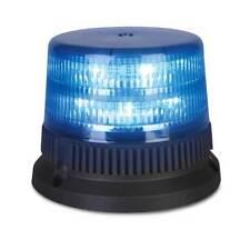 Faro lampeggiante LED blu INTAV LED FLEX 6+6 PowerLED - Magnetico