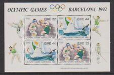 Ireland - 1992, Olympic Games, Barcelona sheet - MNH - SG MS836