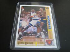 1991/92 UPPER DECK BASKETBALL DIKEMBE MUTOMBO CARD #R29 ***DENVER NUGGETS***