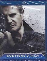3 Blu-ray TAKEN 1+2+3 - IO VI TROVERÒ +LA VENDETTA +L'ORA DELLA VERITÀ trilogia